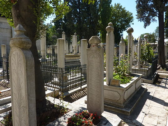 https://upload.wikimedia.org/wikipedia/commons/thumb/2/24/Cemetery_at_the_Fatih_Mosque_-_P1020086.JPG/540px-Cemetery_at_the_Fatih_Mosque_-_P1020086.JPG