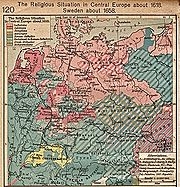 Central Europe religions 1618