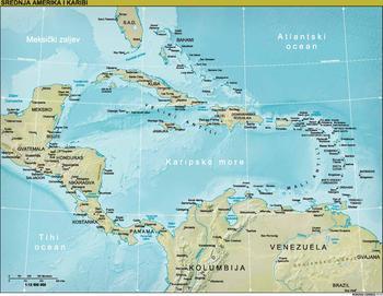 Srednja Amerika Wikipedija