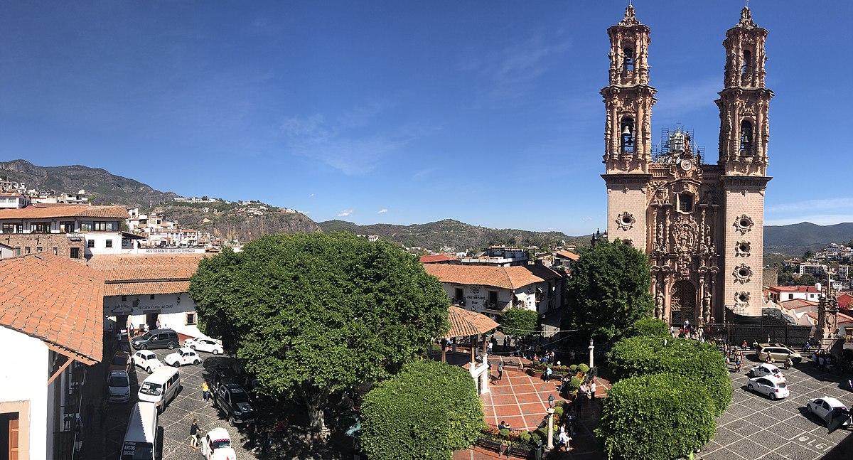 aeba6fe81e3d Centro histórico de Taxco - Wikipedia