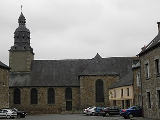 Châtelaudren - The church of Châtelaudren