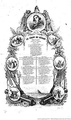 Chénier, Méhul.- Le chant du départ, 1794.jpg