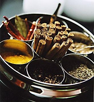 Masala chai - Spices used for masala chai.
