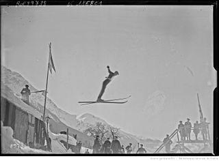 Norwegian Nordic combined skier