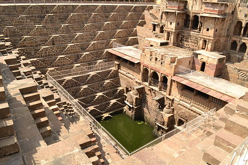 Chand Baori (Step-well) at Abhaneri
