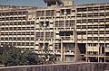 Chandigarh Capitol Complex - Le Corbusier - Secretariat front elevation.jpg