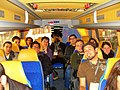 Chapter Representatives on the bus to Cluboffice.JPG