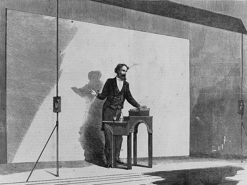 File:Charles Dickens, public reading, 1867.jpg