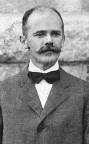 Charles Hammett - Hammett pictured in The Syllabus 1911, Northwestern yearbook