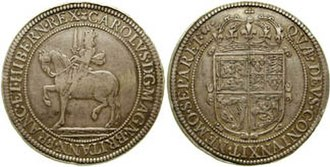 Scottish coinage - Image: Charles I 1637 621487