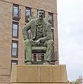 Charles Rennie MacKintosh statue, Glasgow, Scotland.jpg