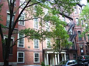 Charles Sumner House - Image: Charles Sumner House Boston MA