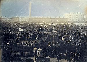 The Great Chartist Meeting on Kennington Common, 1848