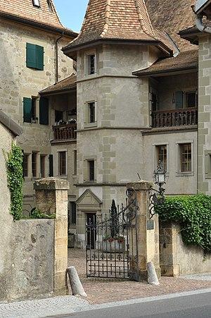 Échandens - Échandens Castle