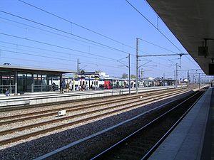 Chelles - Gournay Station - Image: Chelles Gare RER E