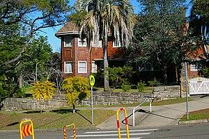Cheltenham, New South Wales - House opposite Cheltenham Station