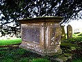 Chest tomb - Churchyard Middle Chinnock - geograph.org.uk - 1207444.jpg