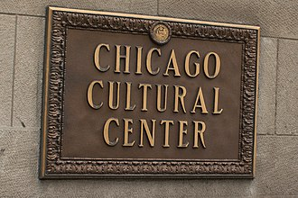 Chicago Cultural Center - Chicago Cultural Center Sign