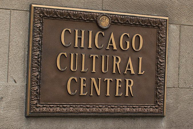 Chicago Cultural Center Sign, Chicago June 30, 2012-35.jpg