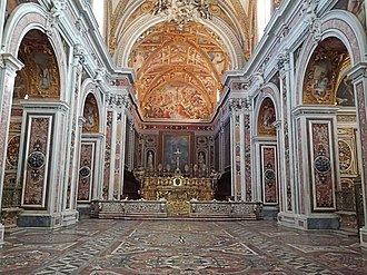 Certosa di San Martino - Interior of the main church