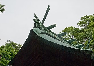 Chigi (architecture) - Kamakura-gū