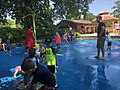 Children's water play area, Missouri Botanical Garden.jpg