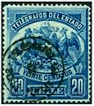 Chile 1883 20c telegraph stamp.jpg