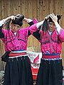 China - Longji Dragon-back Terraces 4 - Yao women showing their hair (140905472).jpg