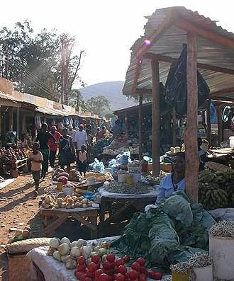 Chipata - Saturday Market in Chipata