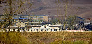 Chongsong station North Korean railway station