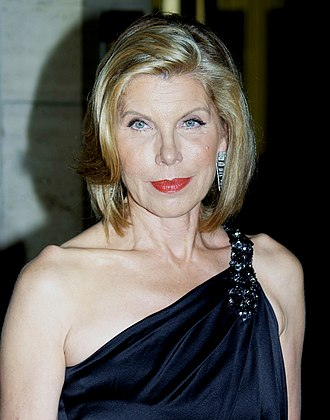 Christine Baranski - Baranski at the Metropolitan Opera 2010 opening night of Das Rheingold