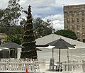 Christmas tree at University of Queensland, St Lucia Campus 2016.jpg