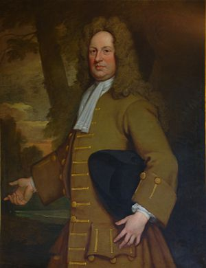 Boston Manor - Christopher Clitherow (1666–1727) by Godfrey Kneller  3rd owner Boston Manor House