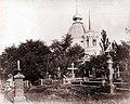 Chtchekavitsa, le cimetière et l'église de Tous-les-Saints avant 1917.jpg