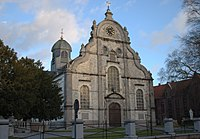 Church of Saint Peter at Meerbeeke (Ninove), Belgium.jpg