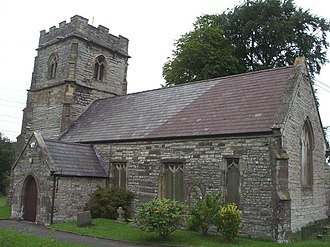 Llanwern - The parish church of St Mary