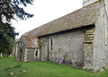 Church of the Holy Cross, Goodnestone - north aisle from north-west.jpg