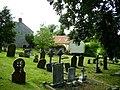 Churchyard at Gunby - geograph.org.uk - 968693.jpg