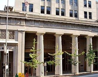 Cinergy - Cinergy's Cincinnati headquarters, now known as the Duke Energy Building.
