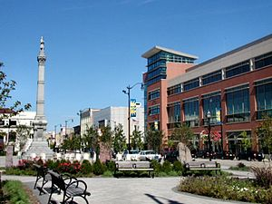 Racine, Wisconsin - Monument Square