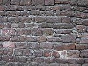 City wall close