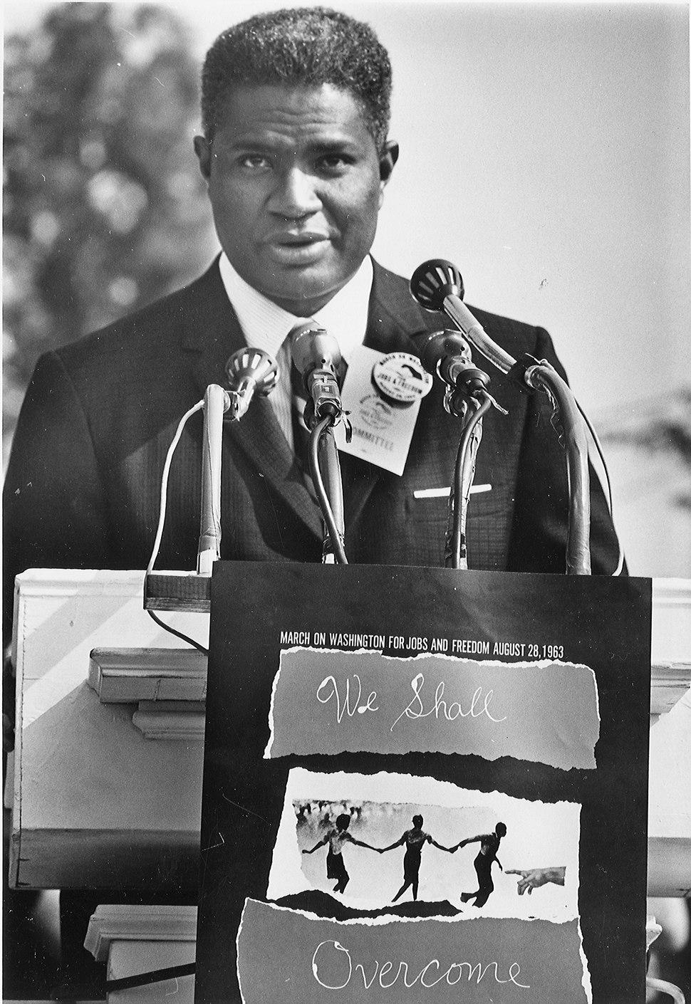Civil Rights March on Washington, D.C. (Actor Ossie Davis.) - NARA - 542018
