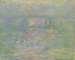 Charing Cross Bridge (Monet series) - Image: Claude Monet Charing Cross Bridge (1899 1901)