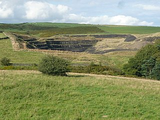 Crow Edge Hamlet in South Yorkshire, England