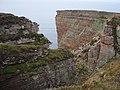 Cliffs at Santoo Head - geograph.org.uk - 1498719.jpg