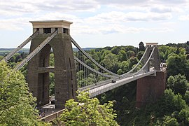 Clifton supension bridge from the Bristol side.JPG