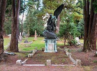 Brookwood Cemetery burial ground in Brookwood, Surrey, England