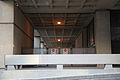 Closed pedestrian viewing arcade - east side - J Edgar Hoover Building - Washington DC - 2012.jpg