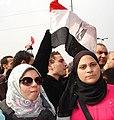 Closeup- Kodak Agfa - Egyptian girls against Mubarak.jpg