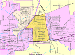 Cloverleaf, Texas - Map of Cloverleaf